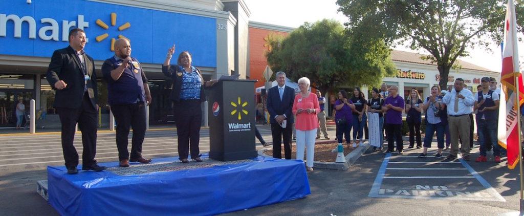 Renovated Clovis Wal-Mart Celebrates Grand Opening