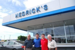 Hedrick's Chevrolet Named a Top 10 Family Business for 2019
